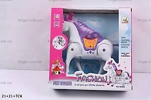 Музыкальная лошадка «Fashion», 00506