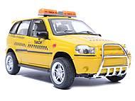 Музыкальная машина «Автопарк» «Такси», 9079-C, фото