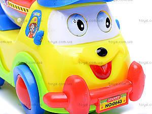 Музыкальная машина для малышей, 0643B, игрушки