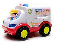 Музыкальная машина «Скорая помощь», 836, интернет магазин22 игрушки Украина