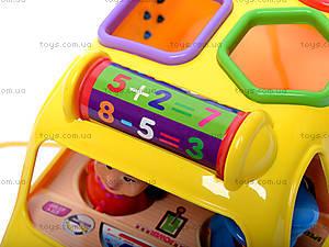 Музыкальная машина-сортер, GP2111, игрушки