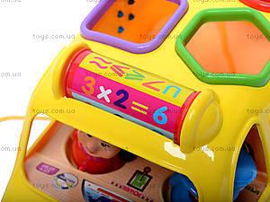 Музыкальная машина-сортер, GP2111, детские игрушки