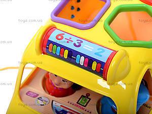 Музыкальная машина-сортер, GP2111, магазин игрушек