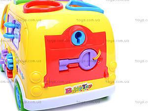 Музыкальная машина-сортер, GP2111, toys.com.ua