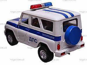 Музыкальная машина УАЗ «ДПС», 9076D, фото