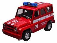 Музыкальная машина УАЗ «Пожарная», 9076-E