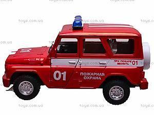 Музыкальная машина УАЗ «Пожарная», 9076-E, купить