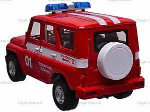 Музыкальная машина УАЗ «Пожарная», 9076-E, фото
