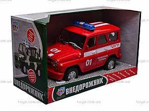 Музыкальная машина УАЗ «Пожарная», 9076-E, отзывы