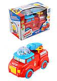 Машинка «Пожарная», с эффектами , 688-4, отзывы