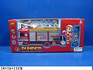 Музыкальная машинка «Пожарка» с мыльными пузырями, B928A