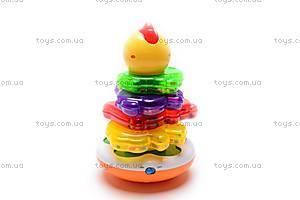 Музыкальная неваляшка «Цыпленок», 7015, игрушки
