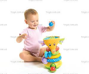 Музыкальная пирамидка «Радужный слоник», 1502106830, фото