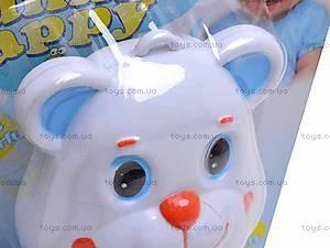 Музыкальная погремушка «Медвежонок», 52002, детские игрушки