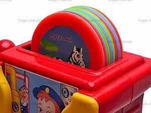 Музыкальная развивающая игра «Веселый паровозик», 1362E, игрушки