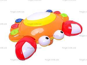 Музыкальная развивающая игрушка «Краб», QY3388, купить