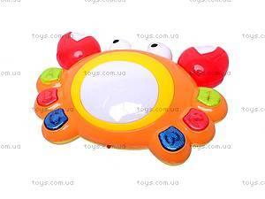 Музыкальная развивающая игрушка «Краб», QY3388, фото