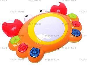 Музыкальная развивающая игрушка «Краб», QY3388, отзывы