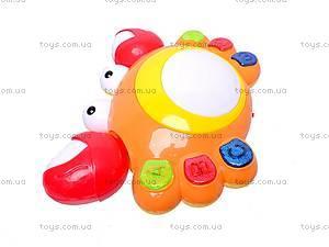 Музыкальная развивающая игрушка «Краб», QY3388, цена