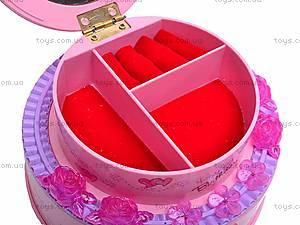 Музыкальная шкатулка для бижутерии, 9208, магазин игрушек