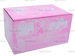 Музыкальная шкатулка, для девочки, 6027/1-4, фото