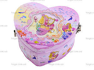 Музыкальная шкатулка-сердце, BT-C-055, фото