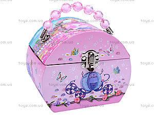 Музыкальная шкатулка сумочка-сундучок, BT-C-049