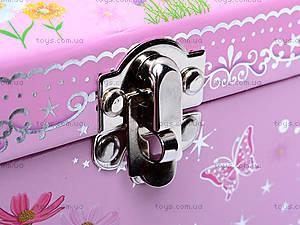 Музыкальная шкатулка-сундучок с балериной, BT-C-017, купить