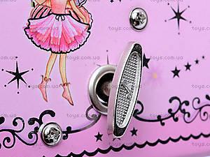 Музыкальная шкатулка-сундучок с балериной, BT-C-017, фото