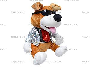 Музыкальная собачка-повторюха, CL1506B, игрушки