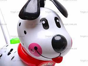 Музыкальная собака-каталка, 229C, toys.com.ua