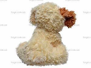 Музыкальная собака, сидячая, Q-271-036WT, фото