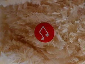 Музыкальная собака, сидячая, Q-271-036WT, детские игрушки