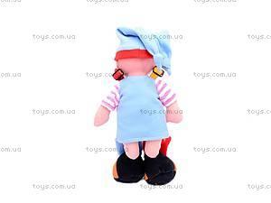 Музыкальная тактильная кукла «Пуговка», 080205, купить