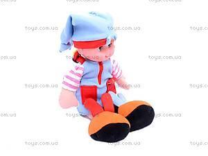 Музыкальная тактильная кукла «Пуговка», 080205, фото