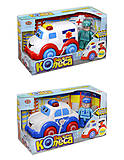 Музыкальная игрушечная машина «Веселые колеса», 7106ABC
