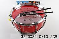 Музыкальная игрушка барабан, 53881