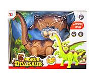 Музыкальная игрушка «Брахиозавр» коричневый, 815, фото