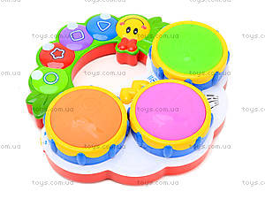 Музыкальная игрушка для детей «Барабан», 2216A-33, фото