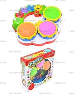 Музыкальная игрушка для детей «Барабан», 2216A-33, отзывы