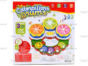 Музыкальная игрушка для детей «Барабан», 2216A-33