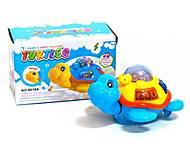 Музыкальная игрушка для детей «Черепашка», 9016A, игрушки