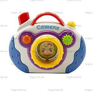 Музыкальная игрушка для детей «Мини-камера», 8807-9, фото