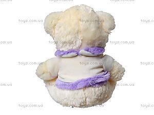 Музыкальная игрушка для детей «Мишка в платье», 343335, фото