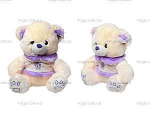Музыкальная игрушка для детей «Мишка в платье», 343335