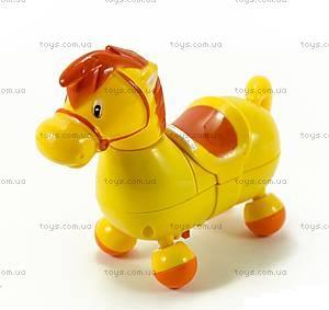 Музыкальная игрушка для детей «Веселая лошадка», 209, фото