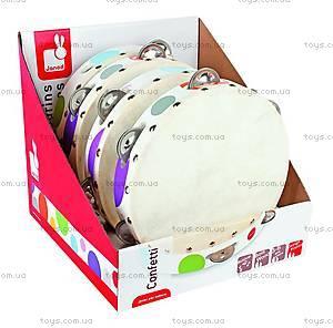 Музыкальная игрушка Конфетти «Бубен», J07601