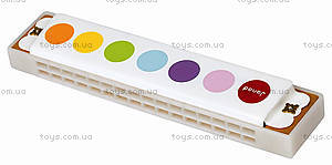 Музыкальная игрушка Конфетти «Губная гармошка», J07609, купить