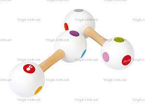 Музыкальная игрушка Конфетти «Маракасы-гантели», J07610, купить