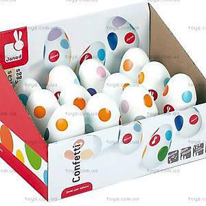 Музыкальная игрушка Конфетти «Звонкие яйца», J07611